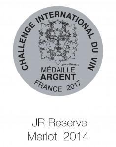 JR Reserve Merlot 2013 Du vin