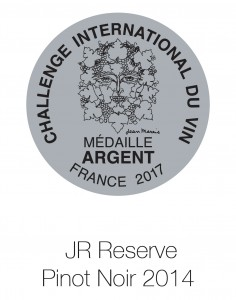 JR Reserve Pinot Noir 2014 Du vin
