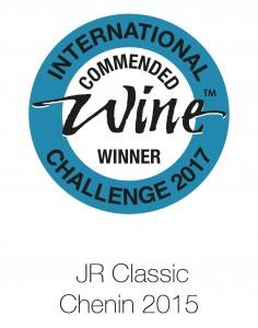 JR classic chenin 2014 IWC