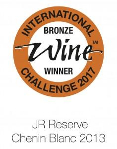 JR reserve chenin blanc 2013 IWC