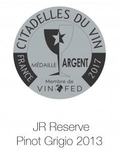 JR reserve pinot gri Du vin