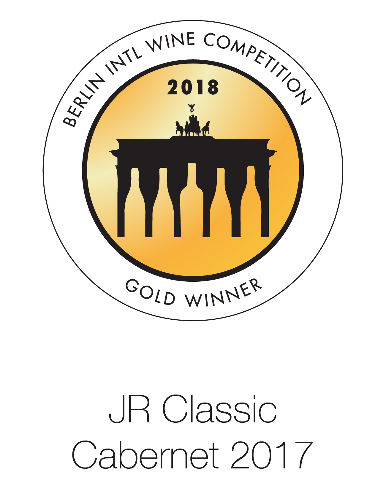 JR Classic - Cabernet Sauvignon 2017 - Berlin International Wine Competition 2018