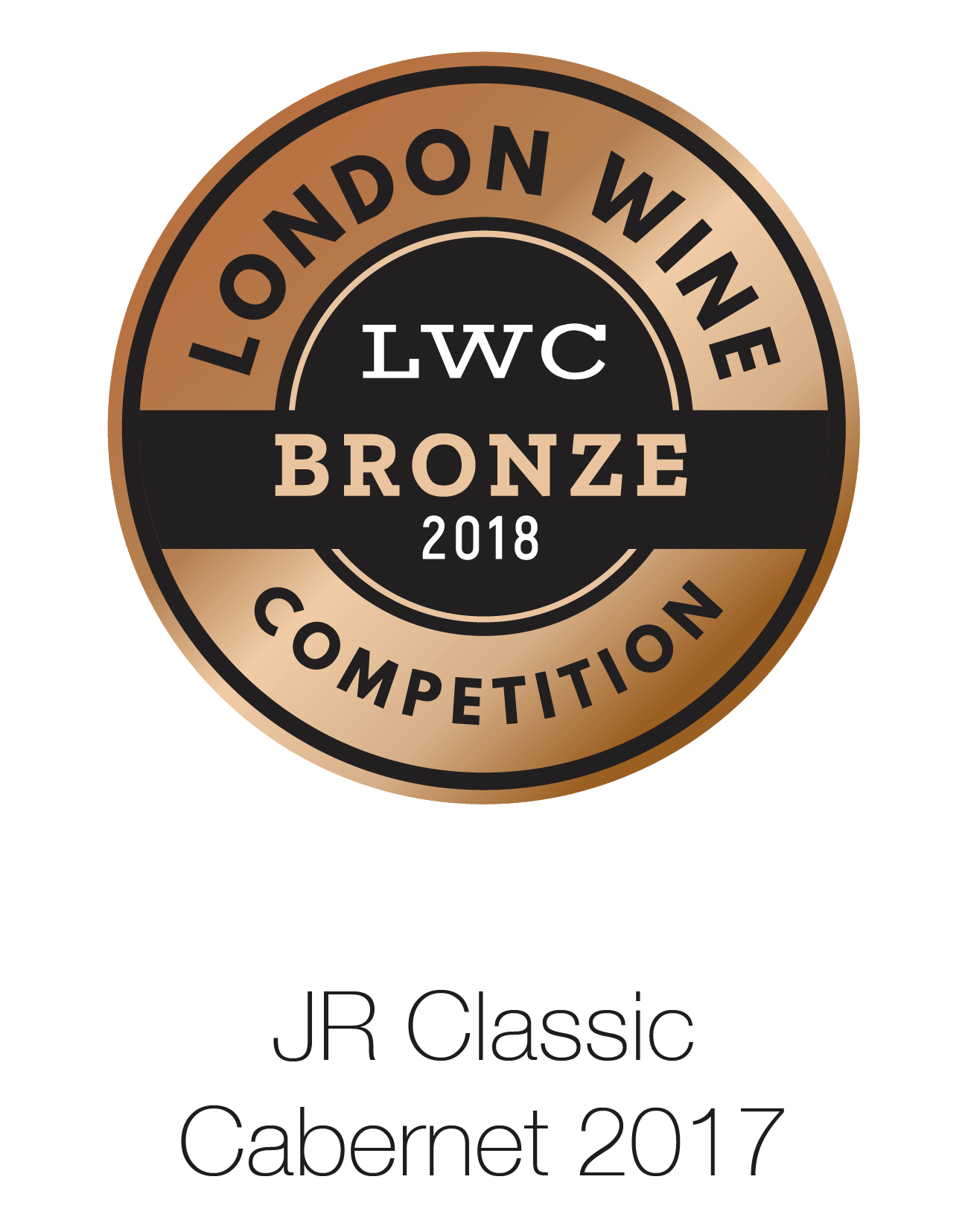 JR Classic - Cabernet Sauvignon 2017 - London Wine Competition 2018