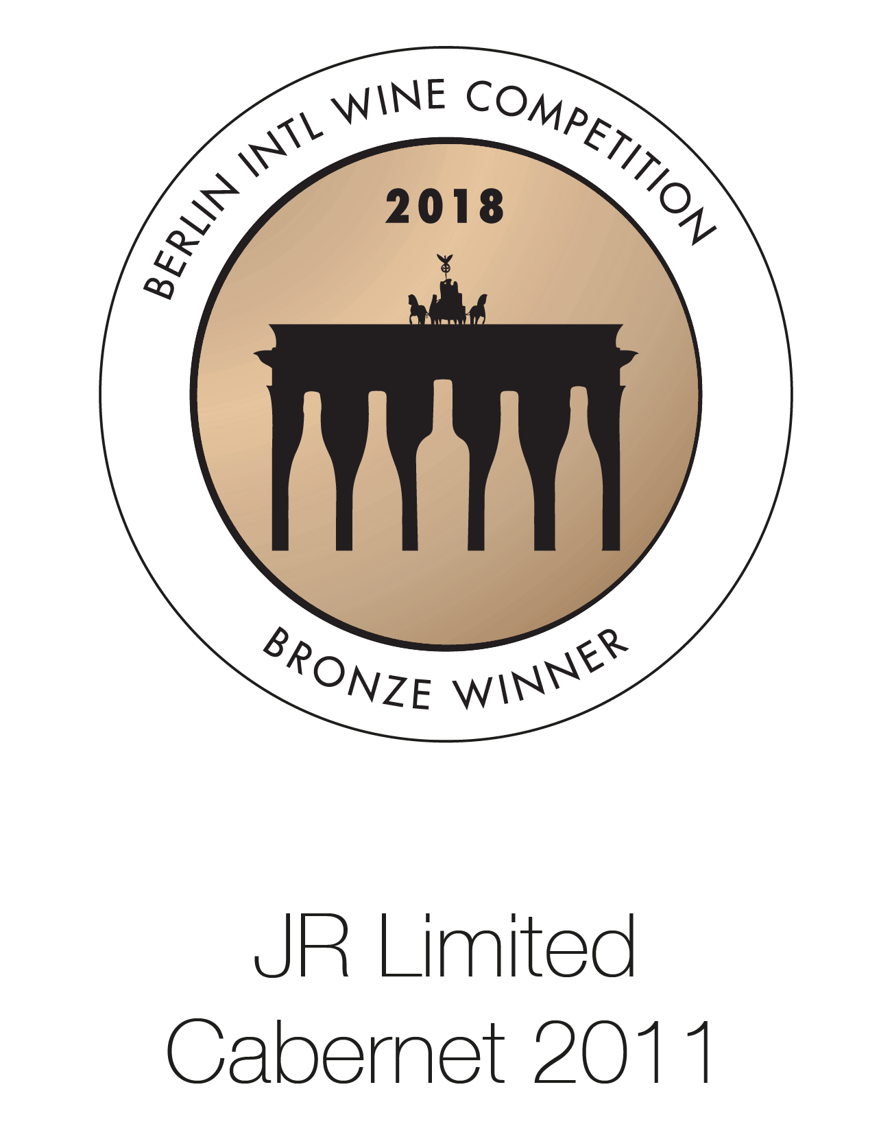 JR Limited Edition - Cabernet Sauvignon 2011 - Berlin International Wine Competition 2018