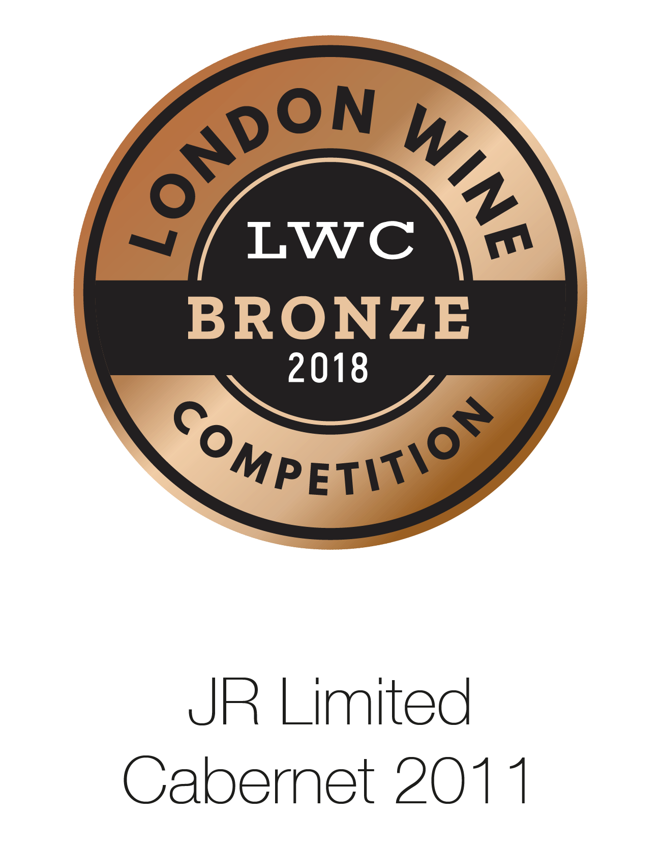 JR Limited Edition - Cabernet Sauvignon 2011 - London Wine Competition 2018
