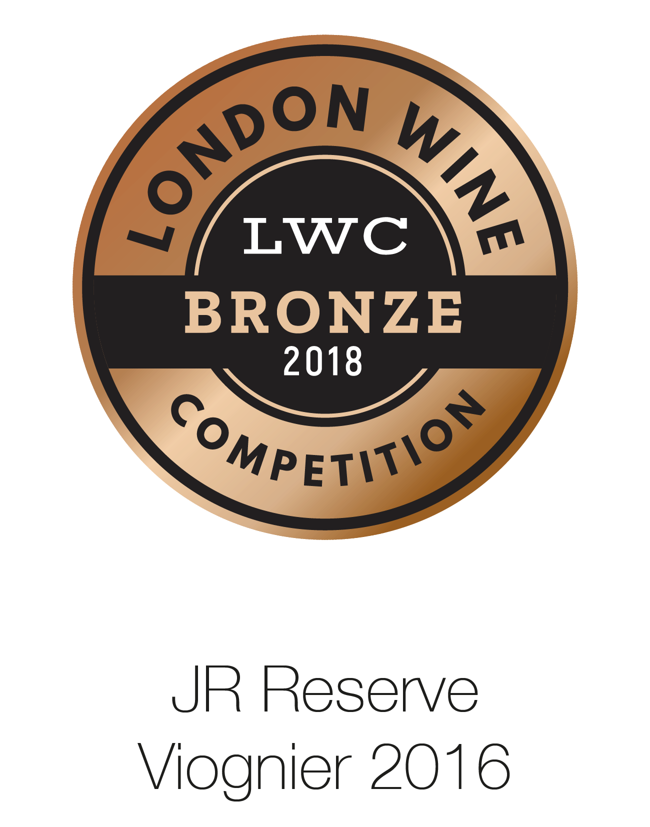 JR Reserve - Viognier 2016 - London Wine Competition 2018