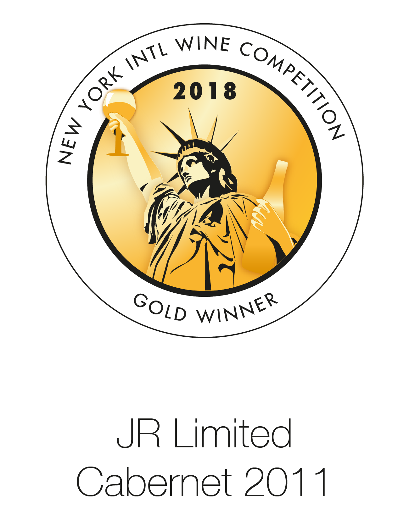 JR Cabernet Sauvignon 2011 Limited Edition London Wine Competition 2018
