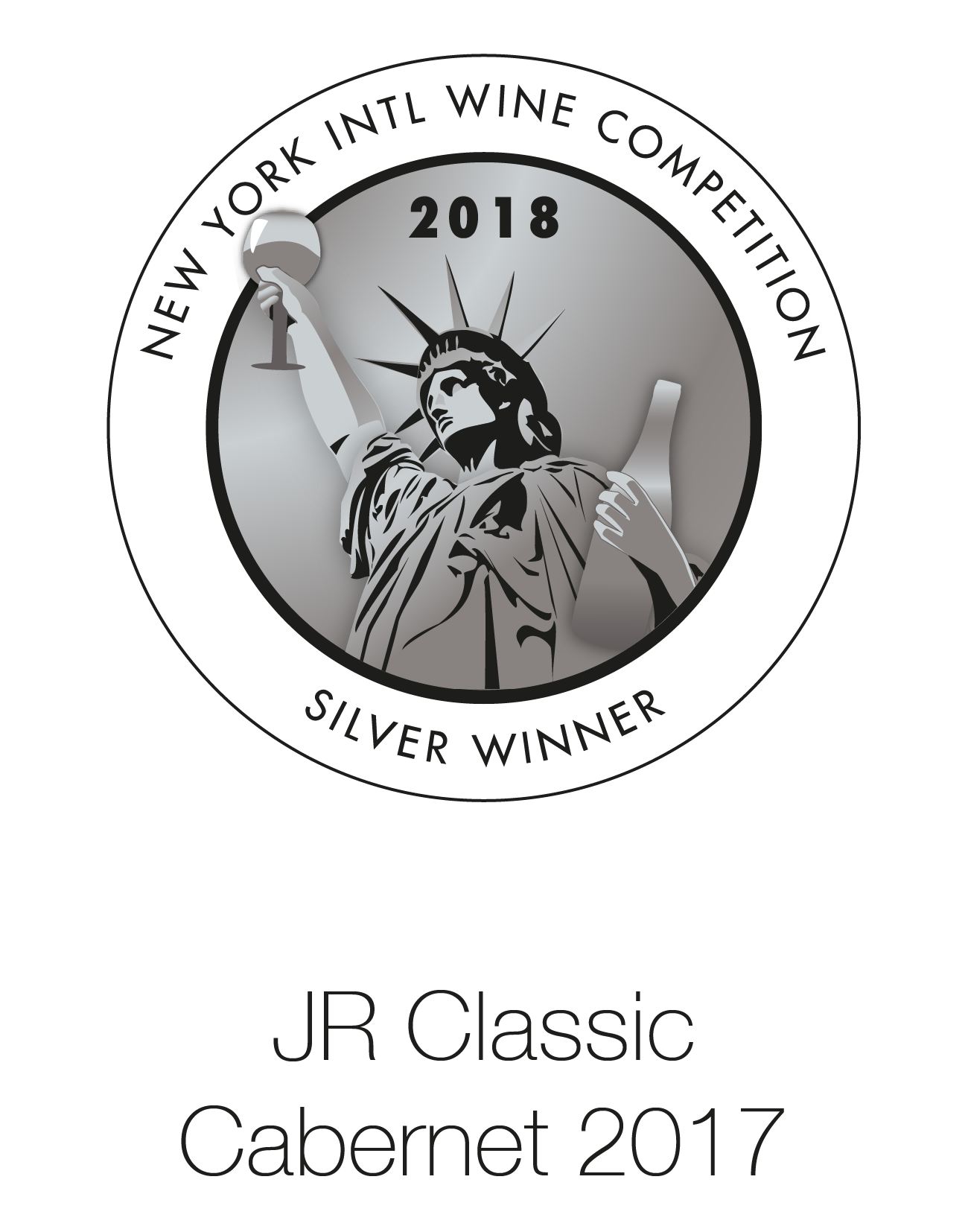 JR Cabernet Sauvignon 2017 Classic London Wine Competition 2018