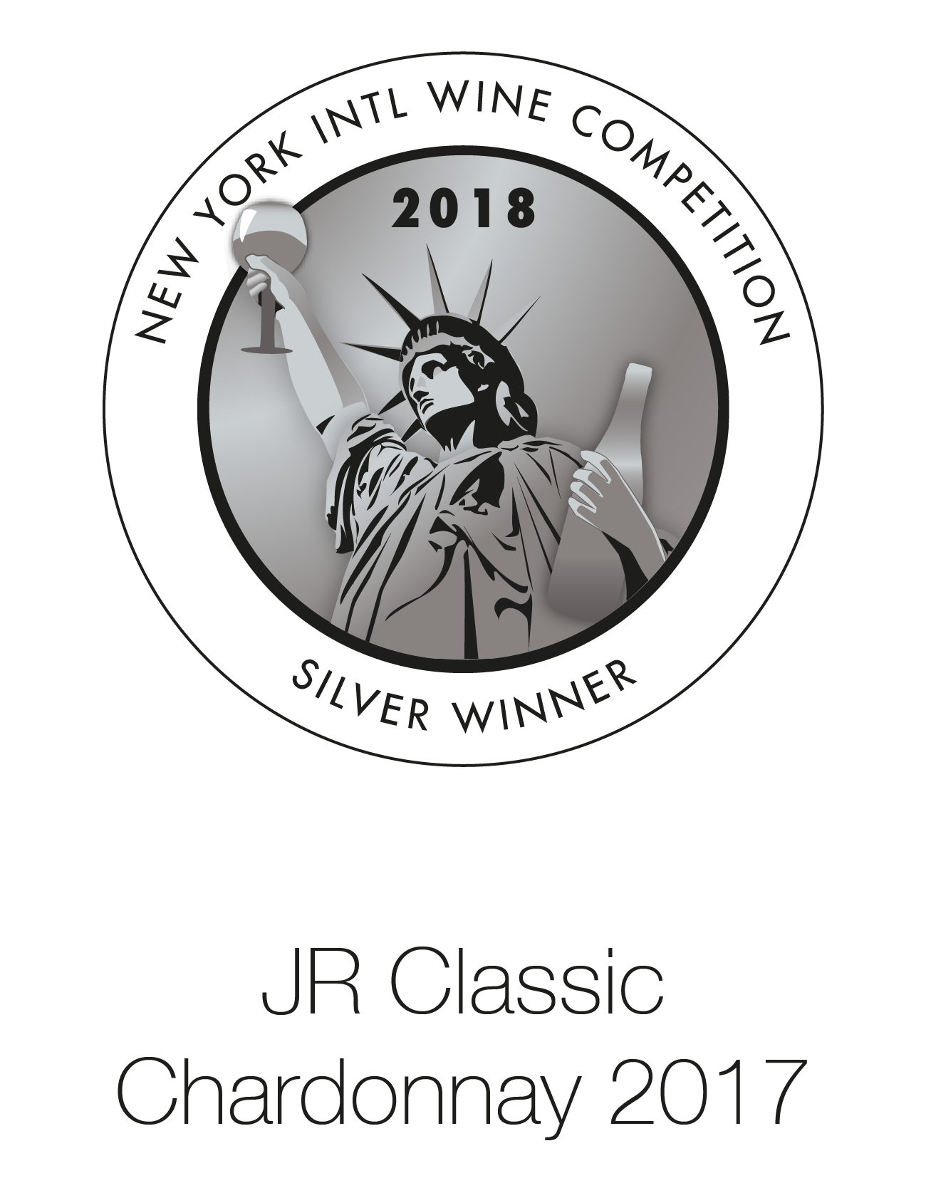 JR CHARDONNAY 2017 Limited Edition London Wine Competition 2018